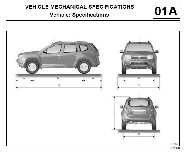 Dacia Duster workshop manual workshop manual