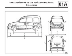 2004 RENAULT Kangoo MR380 MR381 Spanish